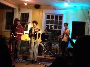 Band at Avant Garden