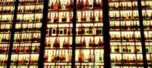 Beer Bottles at Wurst Fest in New Braunfels, TX // Instagram: madidrag