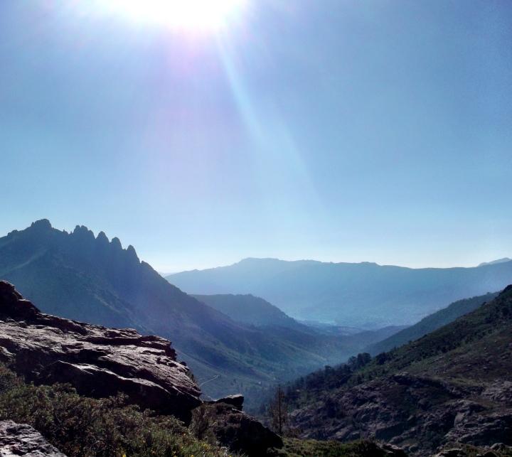 Spiky Mountains