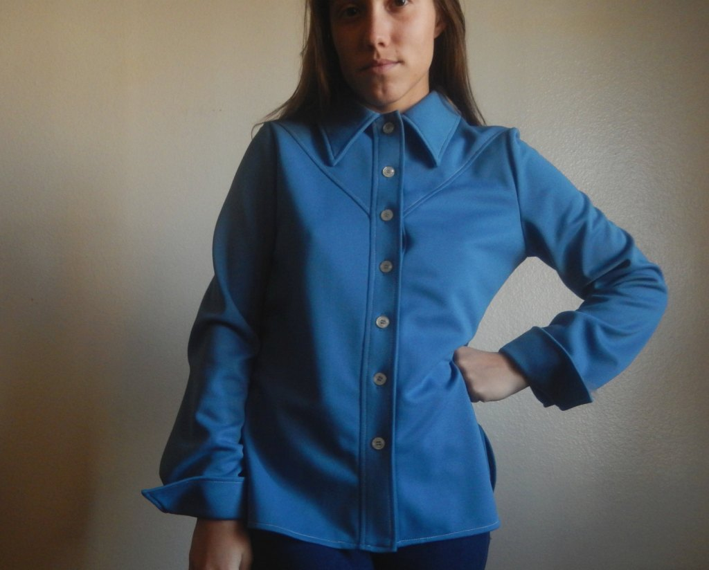 70's polyester shirt