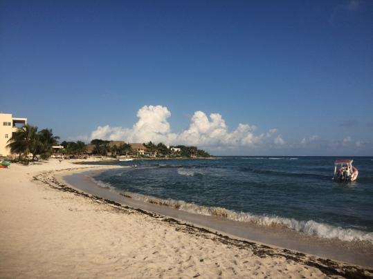 beach paamul mexico beach camping in yucatan peninsula