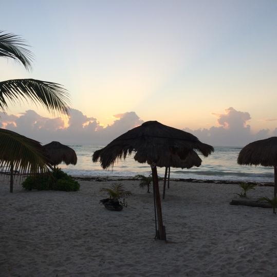xpu ha beach camping beach paamul mexico beach camping in yucatan peninsula