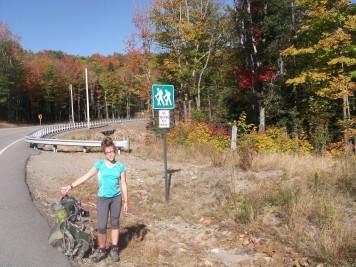 hitchhiking along the Appalachian Trail