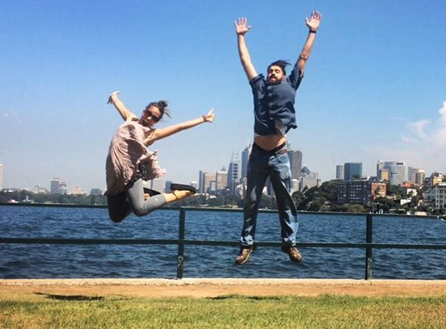 Jumping in Australia