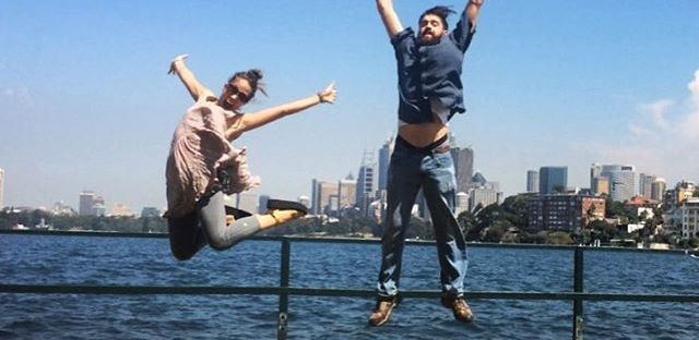 Jumping in Australia
