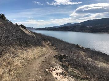 Foothills Trail at Horsetooth Reservoir