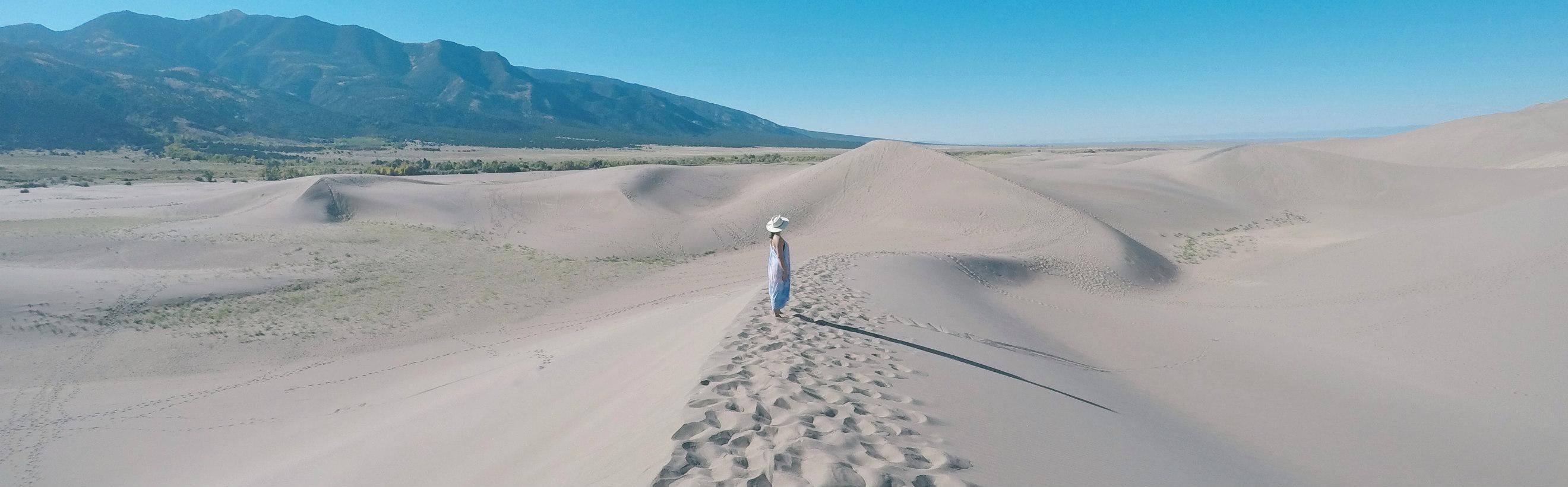 September in Great Sand Dunes National Park