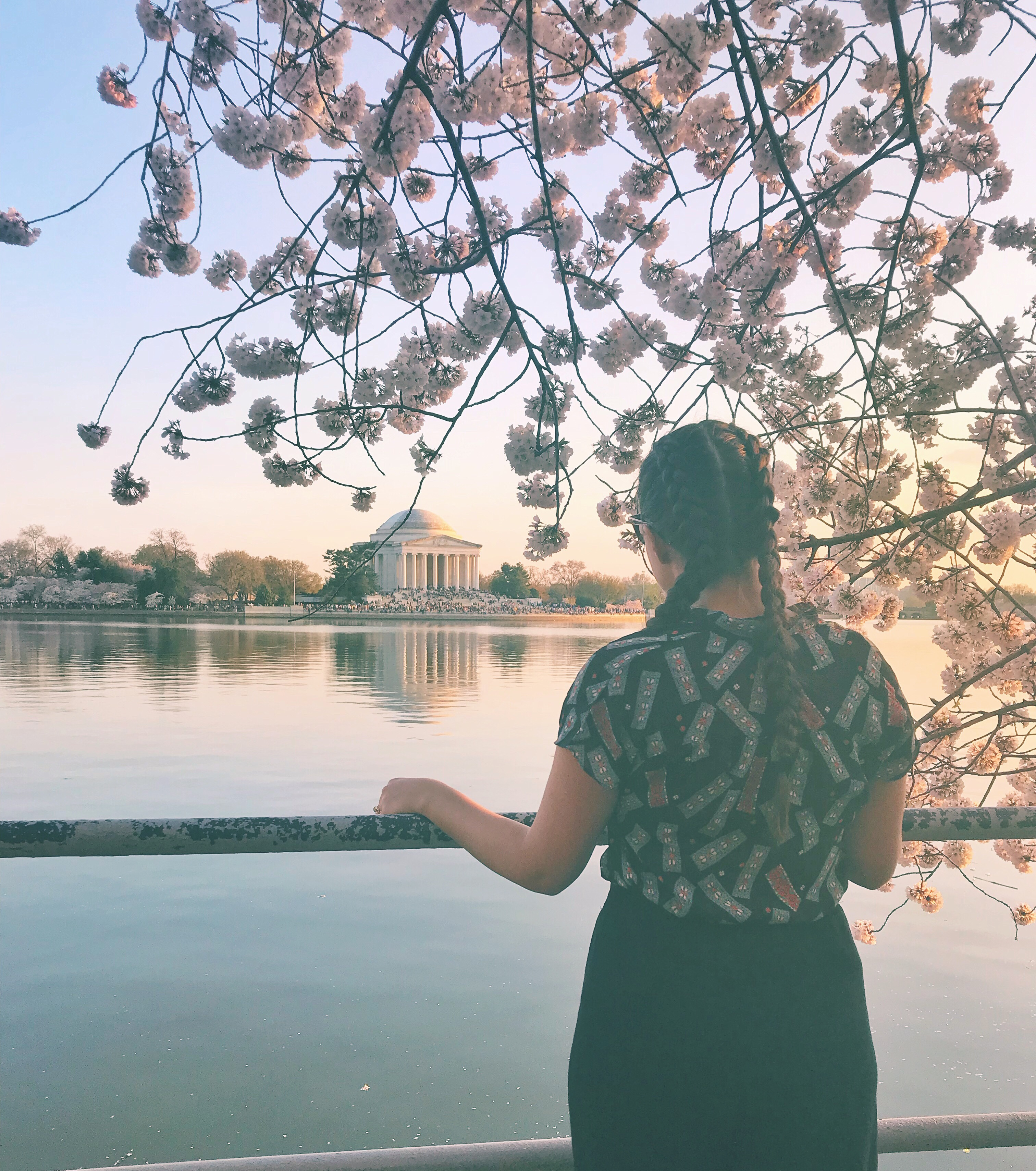 Wearing vintage in Washington, D.C.